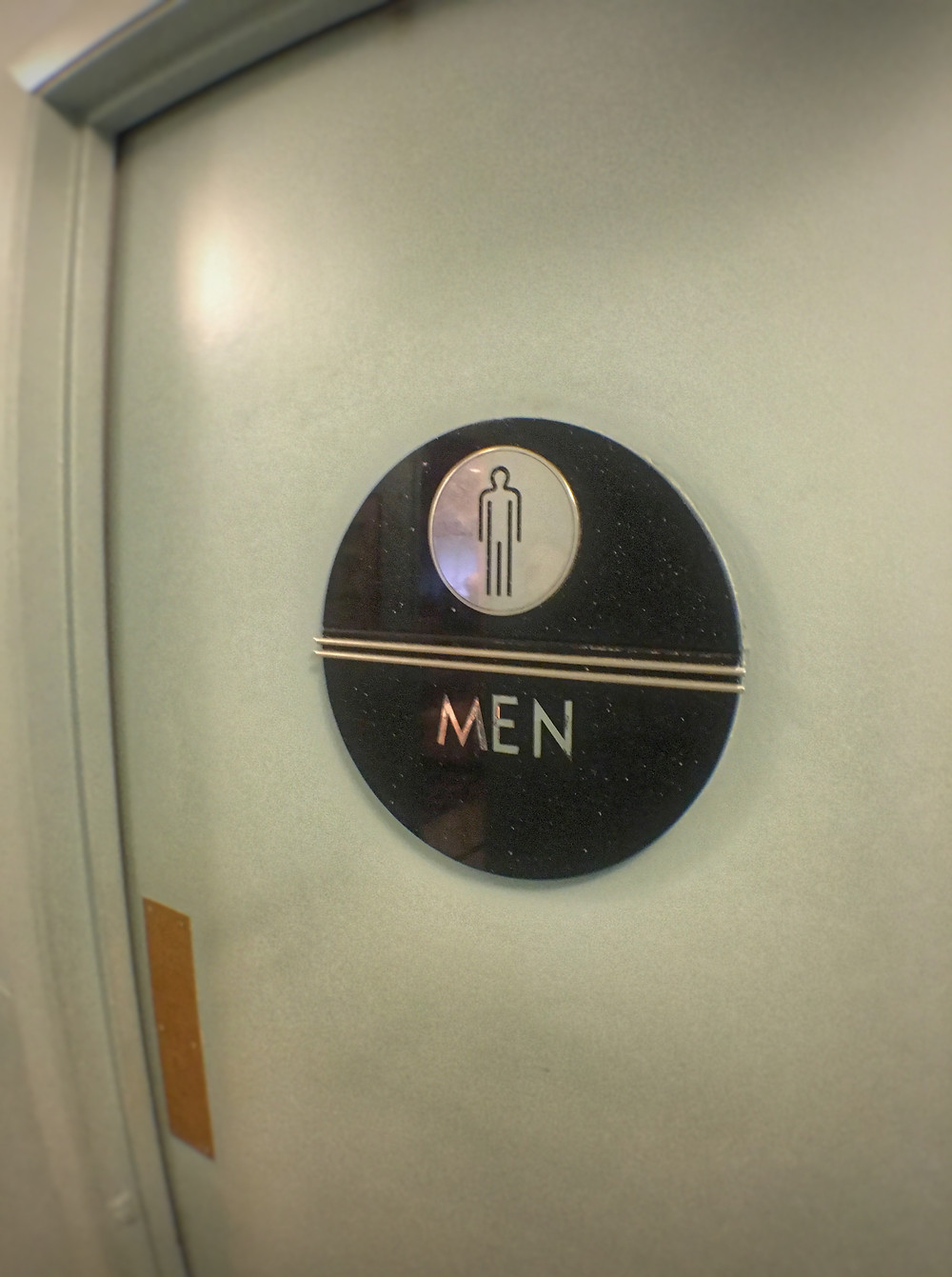 Entrance to the Men's Room at 50's Prime Time Cafe