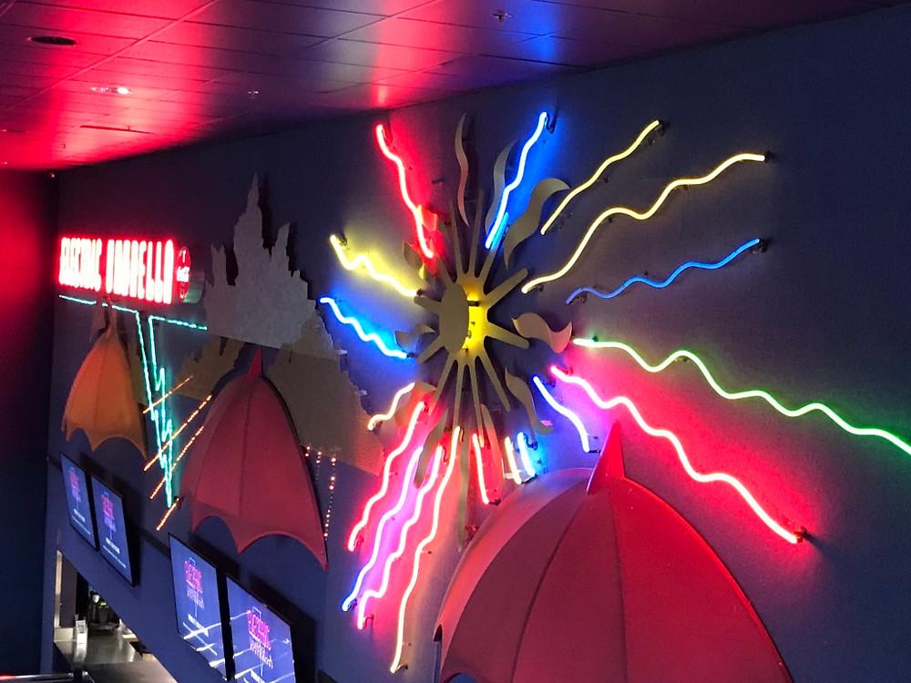 Neon sun, Electric Umbrella, Epcot