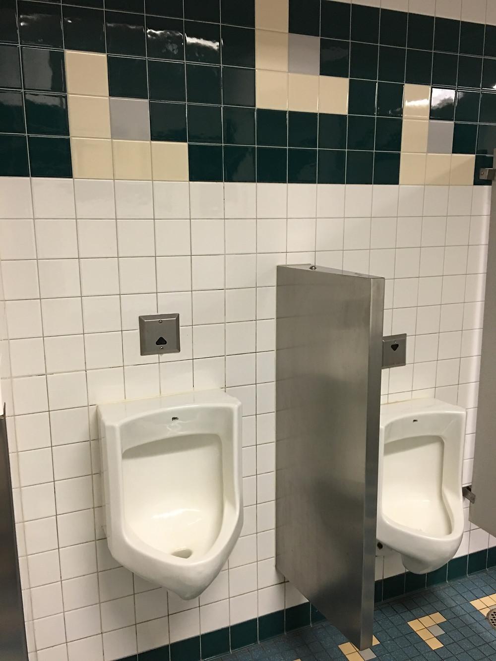 Urinals, Tomorrowland Terrace Restroom, Magic Kingdom