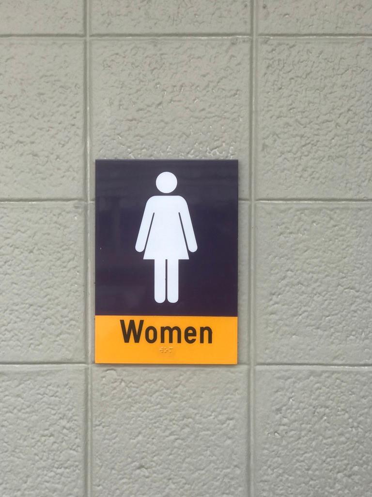 Women's Loo Sign at TTC East Side Loo