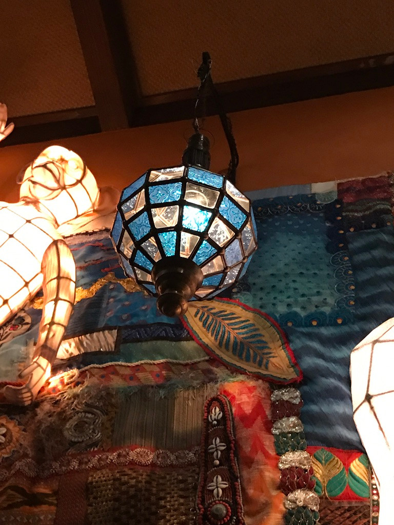 Suspended Light, Grand Dining Room, Tiffins, Animal Kingdom