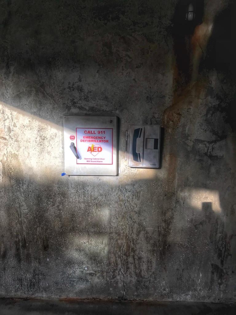 AED, Satu'li Canteen Bathroom