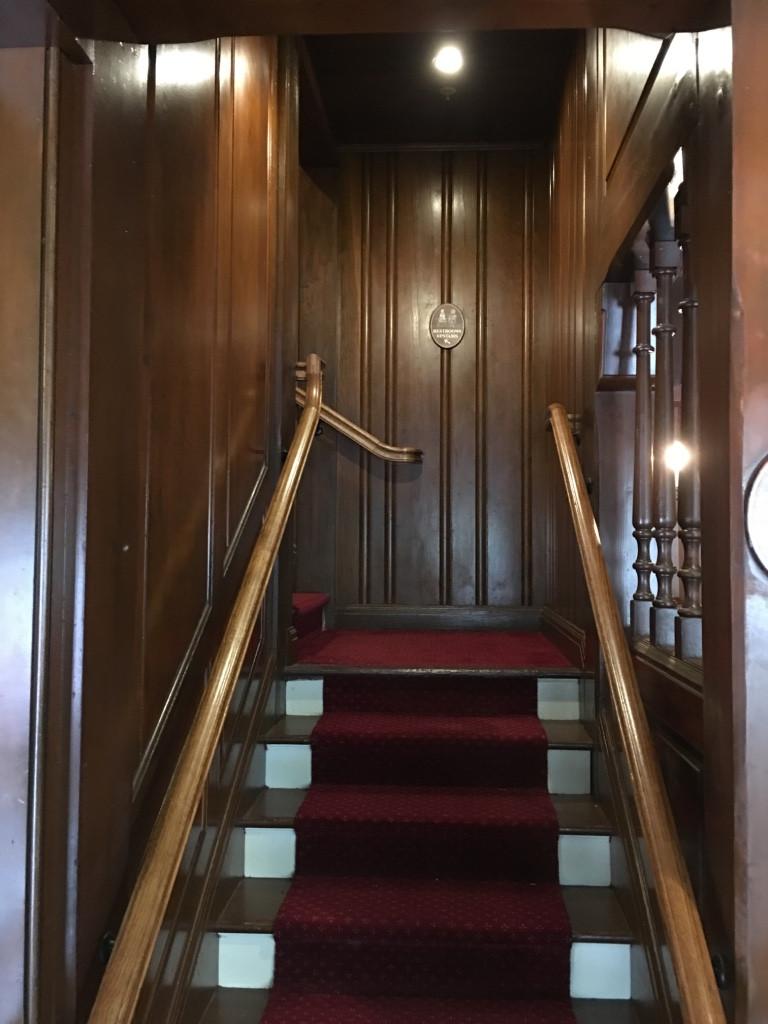 Stairway to Liberty Tree Tavern Loo