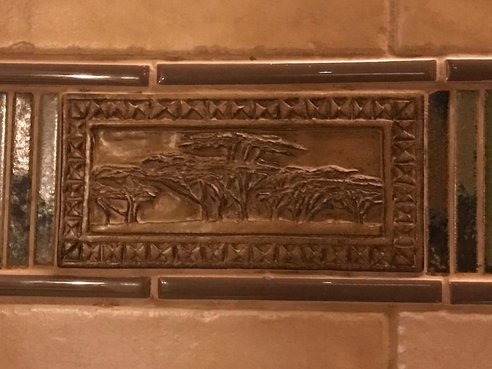 Accent Tile, Sanaa Restroom