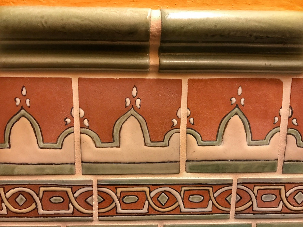 Decorative Tile Trim, Tiffins Restroom, Animal Kingdom