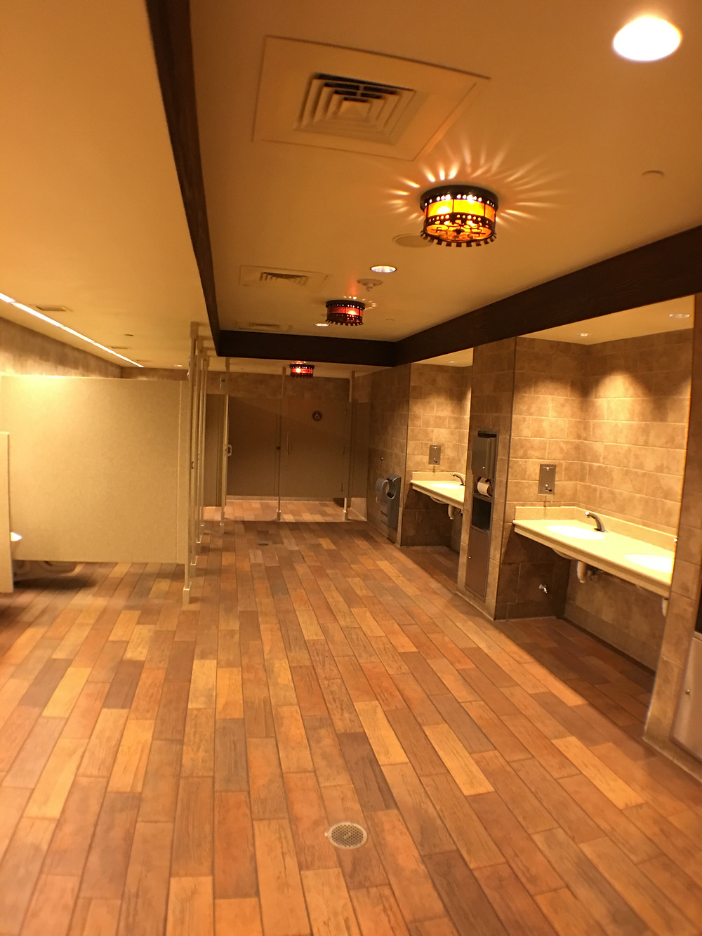 View of the Gaston's Tavern Restroom from the Entry/Exit