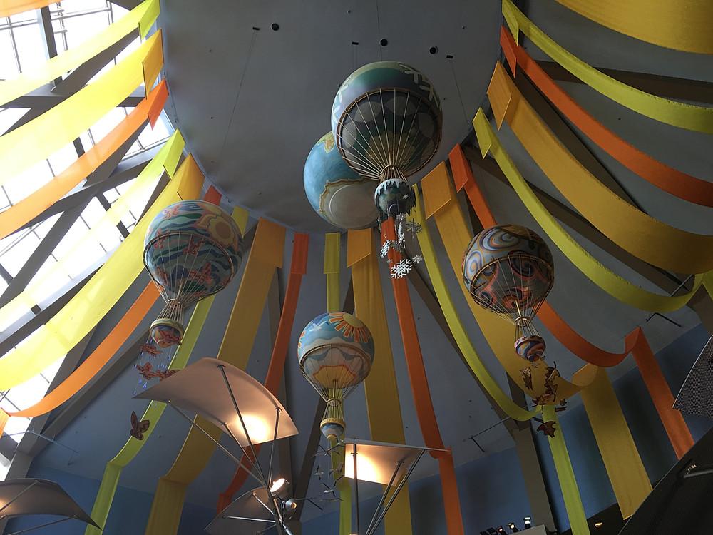 Decorative Balloons Over Sunshine Seasons