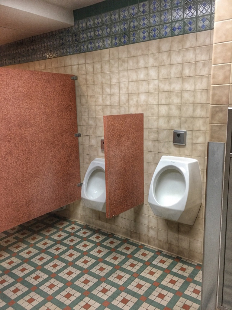Urinals at Tortuga Tavern Men's Room