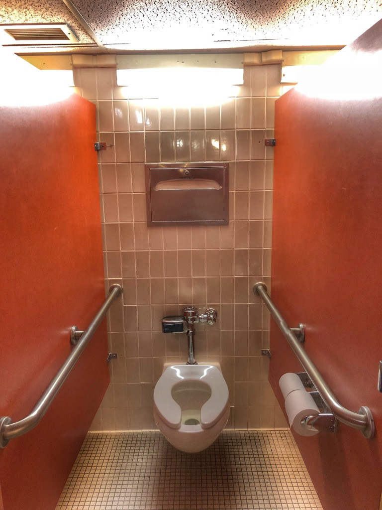Toilet, Third Floor Men's Bathroom, The Contemporary Resort
