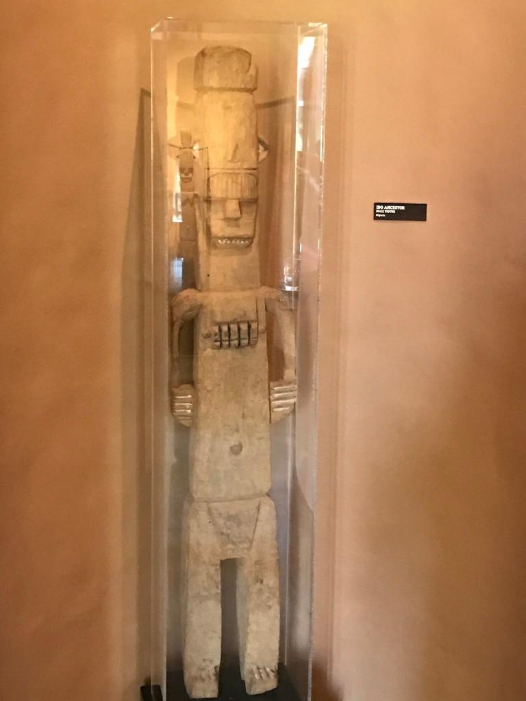African Art, Exterior of Men's Loo, Sanaa