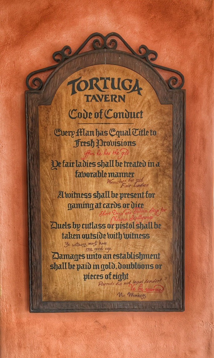 Code of Conduct, Tortuga Tavern