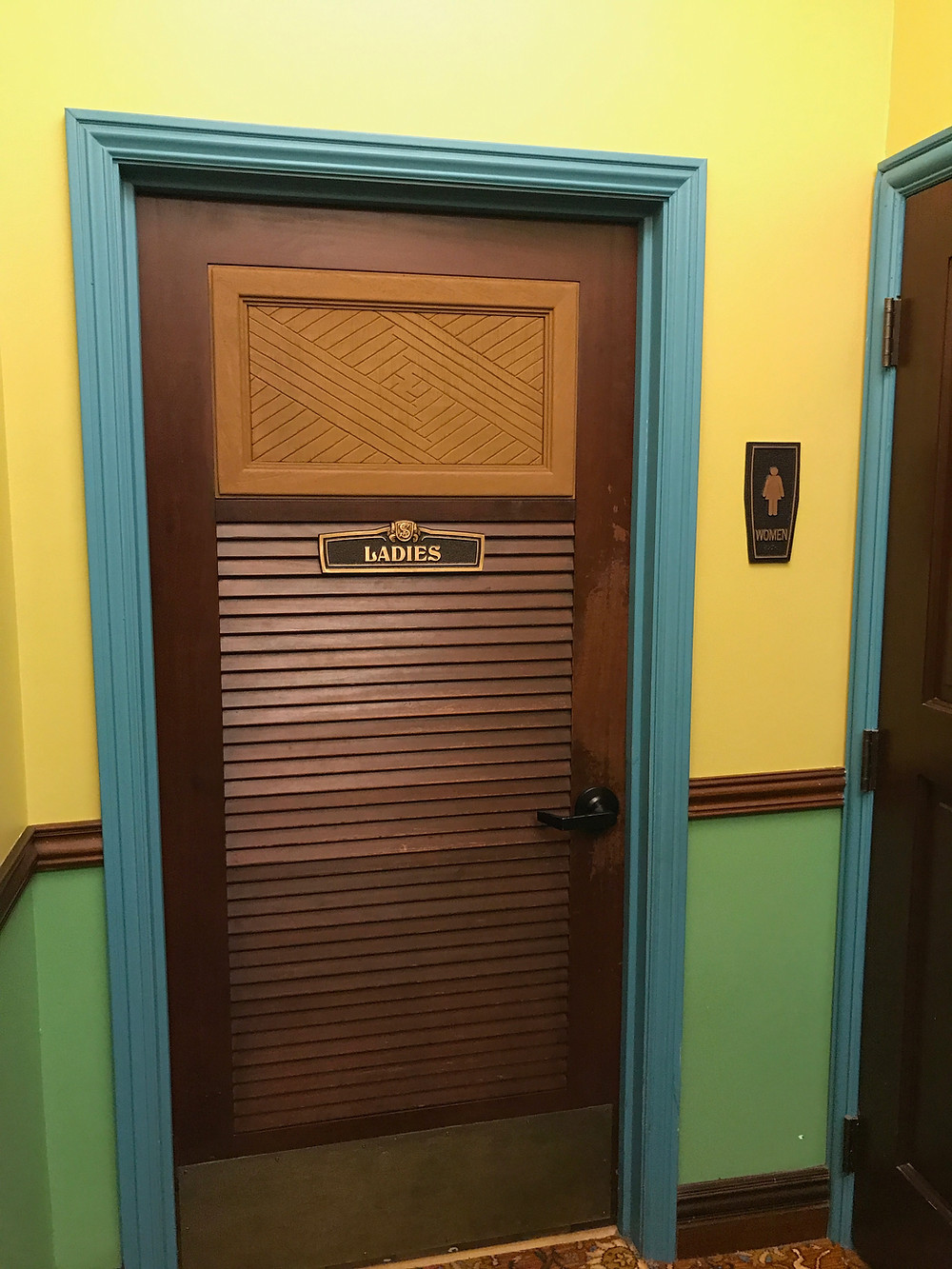 Door to Women's Restroom, Skipper Canteen