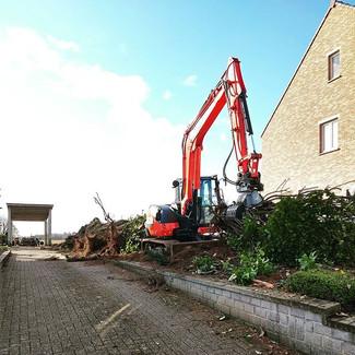 Start van een nieuw tuinproject