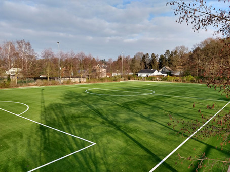 Kunstgras voor terrein 7 te OHL - Oud-Heverlee