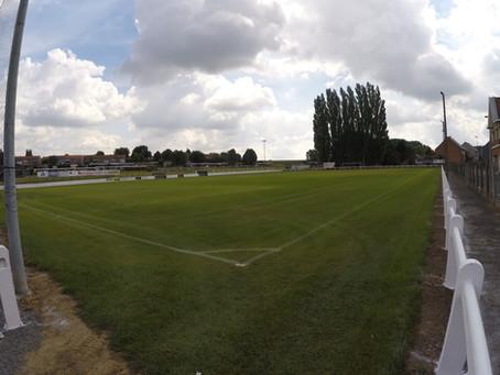 Heraanleg en optimalistie drainage van voetbalterrein FC Mere