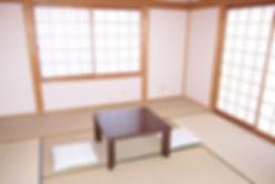 面談は、落ち着いてゆっくりお話しできる和室で