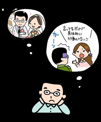婚活は、まず行動から!