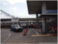 1 . JR須磨駅、北側出口へ出てください。