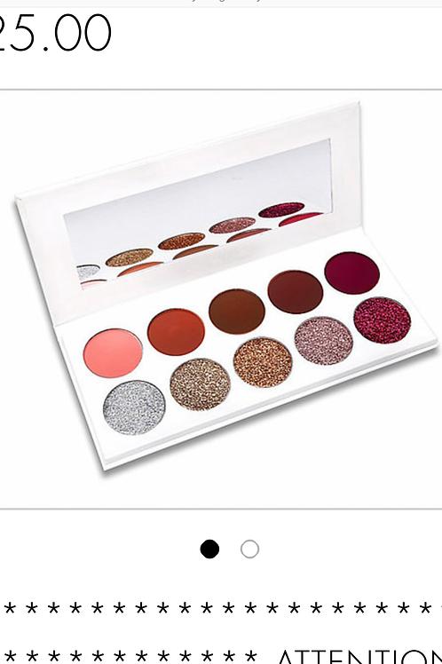 Glitter & Matte Eyeshadow Pallet
