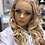 Thumbnail: Blonde Wig 26 inches X1707474