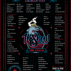 3RD ANNUAL LINEUP 1KSHOW