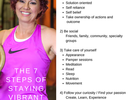 The 7 steps to a long, satisfying life.