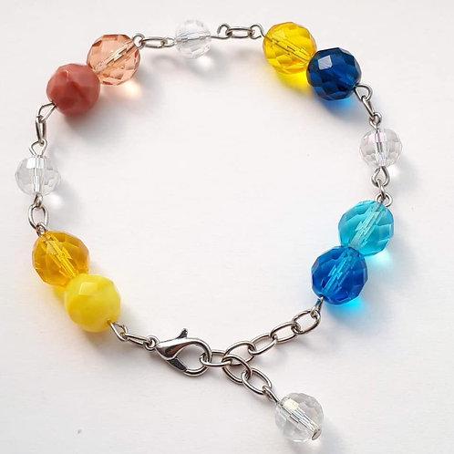 Custom crystal bracelet - colors based on your birthdate