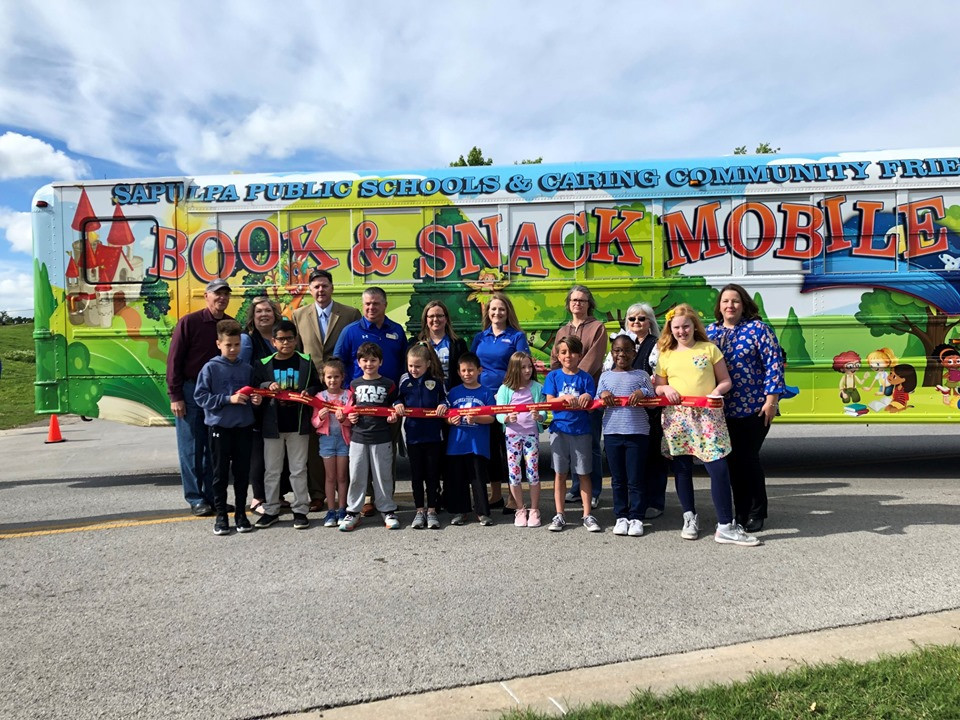 Book and Snack Mobile! Ribbon Cutting