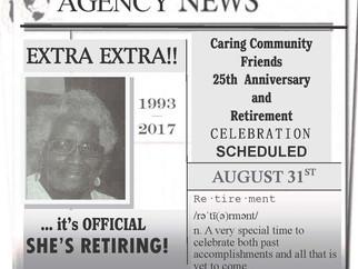 Extra! Extra! Retirement Announcement