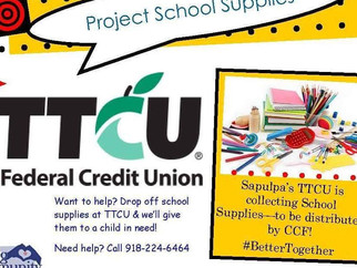 TTCU Project School Supplies