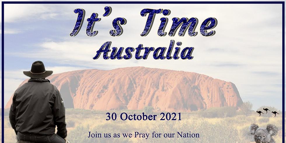 IT'S TIME AUSTRALIA
