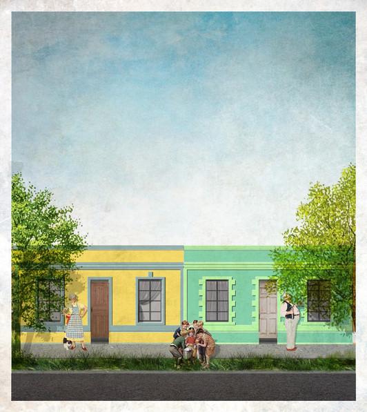 Casa Tipica, Barrio Huemul