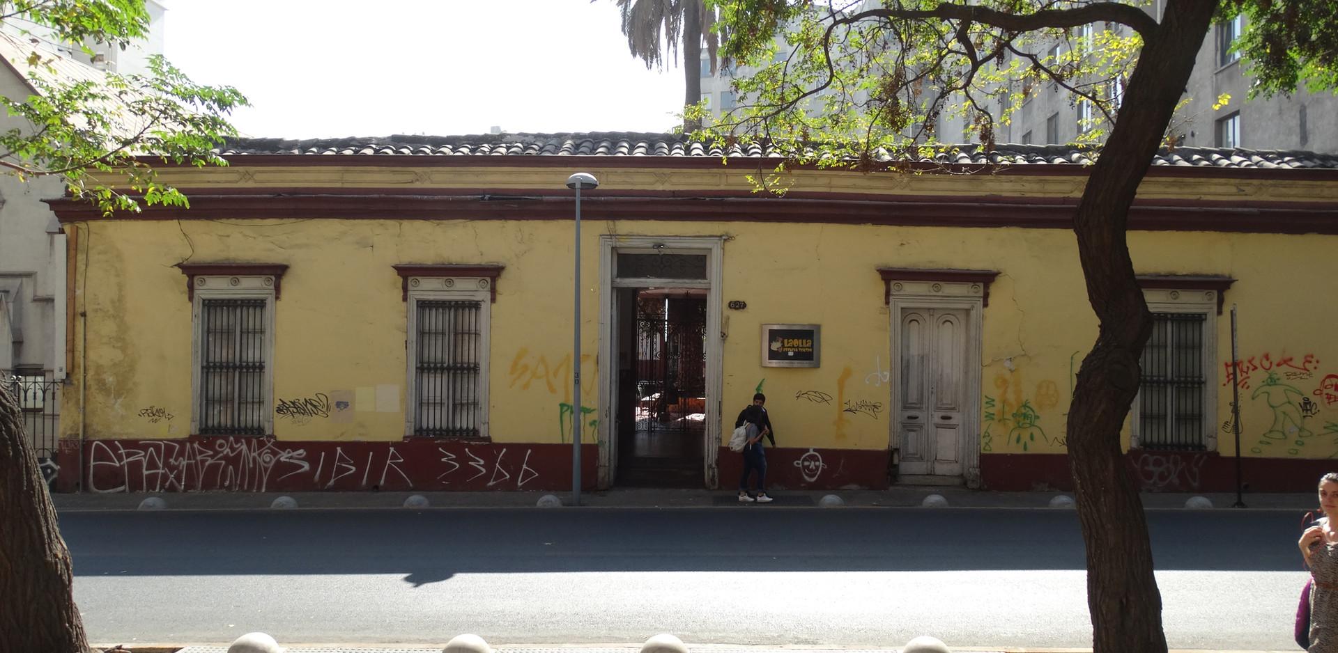 Casa Santo Domingo antes
