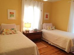 Bedroom #2, 2 Twin Beds