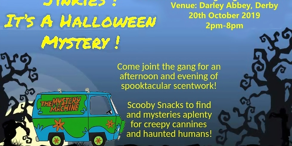 A Scentwork Halloween Mystery