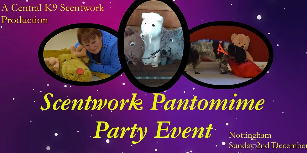 The Midlands Scentwork Pantomime Party