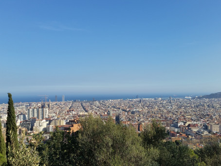 La pas in ritm de dans prin Barcelona