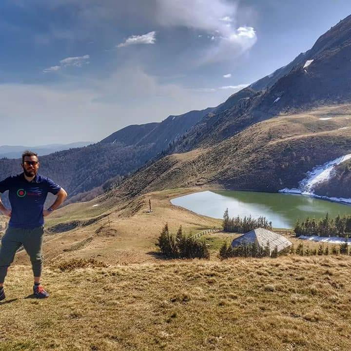 Vârful Mălaia și Lacul Vulturilor
