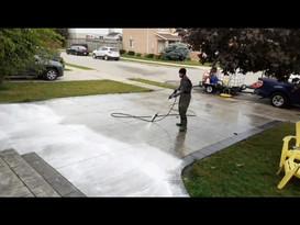 Driveway Wash Video