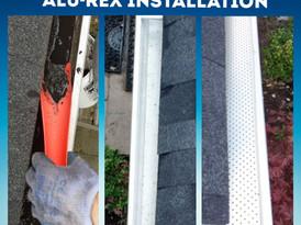 Eavestrough Cleaning & Gutter Gaurd Install