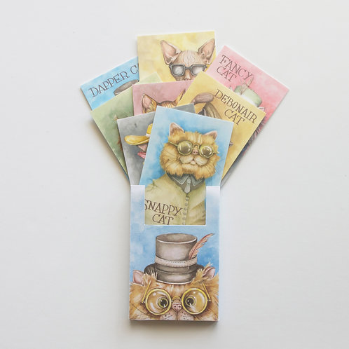 The Dapper Cats - Collectable Card Pack