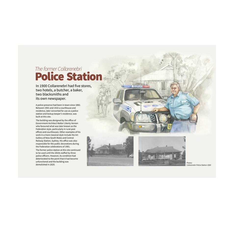 Collarenebri Police Station Historical Signage Project