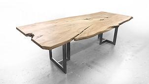 Live edge natural wood slab