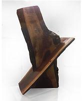 live edge wood art by sculptor Paul Kruger