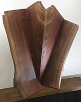 Reclaimed wood sculpture by Paul Kruger