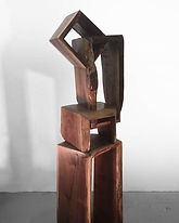 wooden waterfall by artist paul kruger