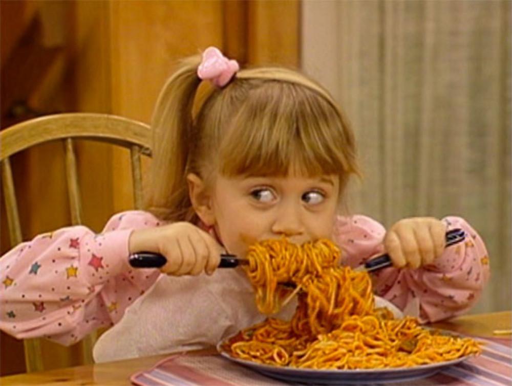 не всё то еда что макароны...