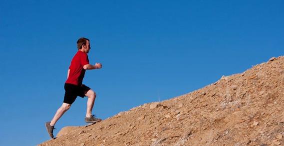 hills running