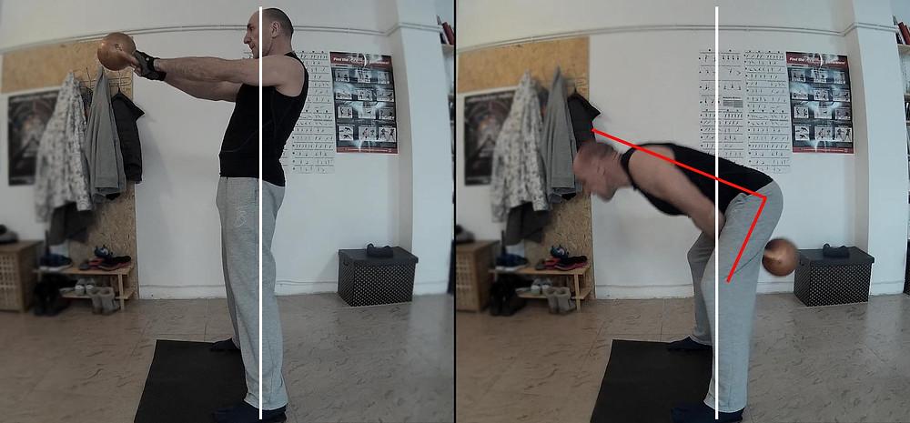 анализ техники махи гирей Trainer Komei