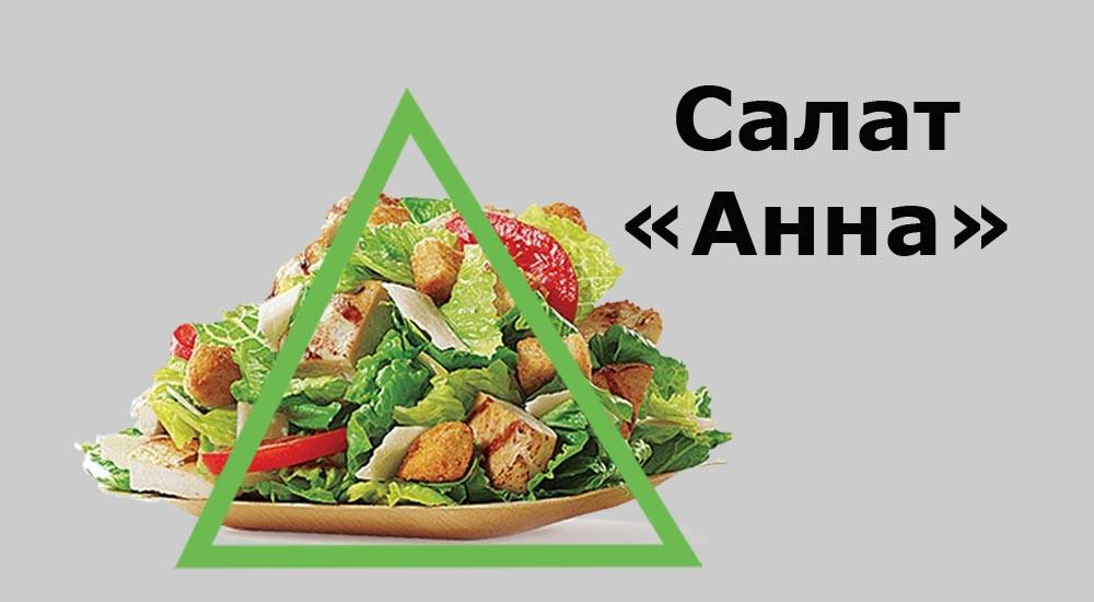 """салат """"Анна"""""""